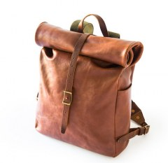 [代購]Whipping Post The Roll Top Backpack 皮革後背包