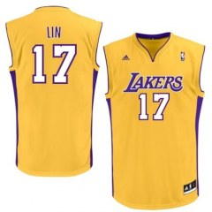[代購]Jeremy Lin L.A. Lakers 林書豪全新湖人隊17號 adidas 球衣