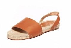 [代購]Soludos Slingback Sandal 草編皮革涼鞋