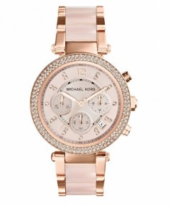 [代購]Michael Kors MK5896 Womens Watch 三眼晶鑽女錶