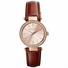 [代購]Michael Kors MK2353 Petite Darci Rose Dial 皮錶帶仕女錶