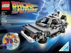 [代購]LEGO The DeLorean Time Machine 回到未來時光機積木組