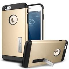 [代購]Spigen iPhone 6 Plus Case Slim Armor 有立架的手機殼