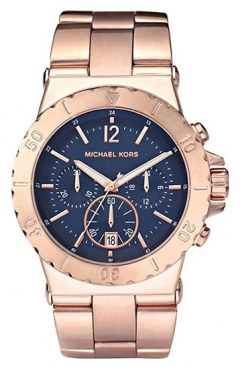 [代購]Michael Kors Womens MK5410 Bel Air Blue Dial 手錶