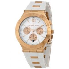 [代購]Michael Kors Wyatt Chronograph MK5935 好優雅的白色錶款