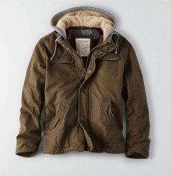 [代購]AEO Hooded Workwear Jacket 帥氣連帽外套