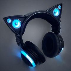 [代購]Brookstone Cat Ear Headphones 讓人一見鍾情的貓耳耳機