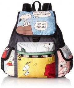 [代購]LeSportsac X Peanuts Voyager Backpack 史努比來了