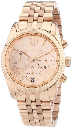 [代購]Michael Kors MK5569 玫瑰金三眼女用腕錶