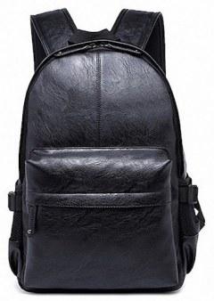 [代購]Kenox Vintage PU Leather Backpack 復古風文青後背書包