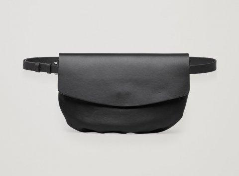 [代購]COS Leather Belt Bag 超有型真皮腰包