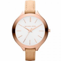 [代購]Michael Kors MK2284 Watches Slim Leather Runway 手錶