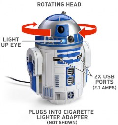 [代購]Thinkgeek R2-D2 USB Car Charger 車用充電器