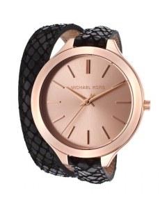 [代購]Michael Kors MK2322 Slim Runway 環繞皮帶超薄女錶