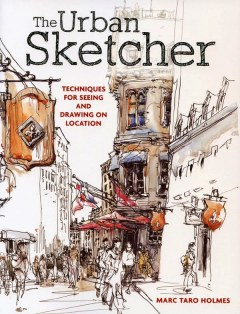 [原文書代購]The Urban Sketcherfor Seeing and Drawing on Location 插畫書