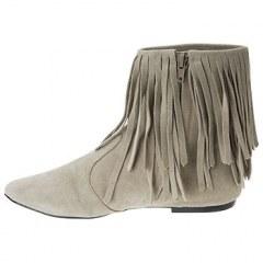 [代購]Sam Edelman 及踝低層次雙層流蘇及踝短靴