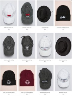 [代購]Brandy Melville Cap, Hat and Beanie 超值有型的帽子