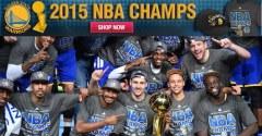 NBA Store 2015 總冠軍金州勇士隊周邊商品代購