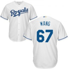 [代購]MLB Kansas City Royals Majestic White Jersey 王建民皇家隊球衣